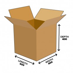 64L Cube Shipping Carton Box