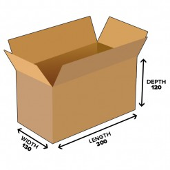 4.7L Shipping Carton Box