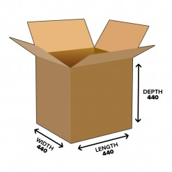 85L Cube Shipping Carton Box