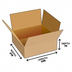 5L Shipping Carton Shipping Box