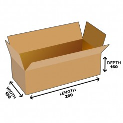 5.4L Shipping Carton Shipping Box