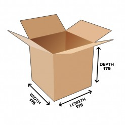 5.3L Cube Shipping Carton Box