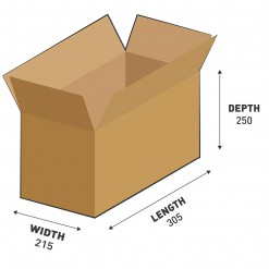 16L Shipping Carton Box