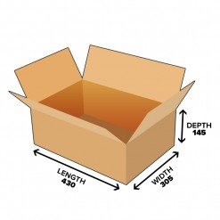 19L Shipping Carton Shipping Box