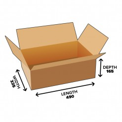 26L Shipping Carton (Heavy Duty) Shipping Box
