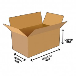 32L Shipping Carton Box