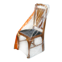 Single seat heavy duty dining chair cover.